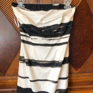NWT limited strapless dress sz4